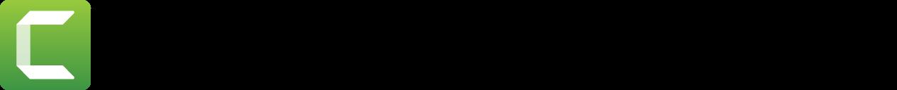 Logo_Hrz_TechSmithCamtasia_Blk_128px